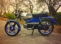 blauwe Kreidler RS