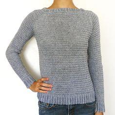Classic Crochet Sweater XS-5X