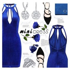 """mini"" by meyli-meyli ❤ liked on Polyvore featuring Guerlain, minidress, yoins, yoinscollection and loveyoins"