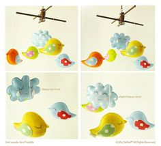 Hey, I found this really awesome Etsy listing at https://www.etsy.com/listing/71811022/musical-baby-mobile-bird-parade-with