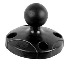"RAP-B-202U 2.5"" Diameter Base with 1"" Ball. $12.99 We're a Ram-Mounts authorized reseller!"