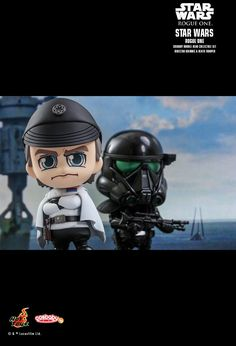 Hot Toys : Rogue One: A Star Wars Story - Director Krennic & Death Trooper Specialist Cosbaby (S) Bobble-Head