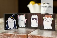 Printable Halloween Ghosts from Carissa Miss