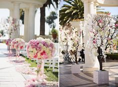 Gorgeous Outdoor Wedding Ceremonies  by Belle The Magazine