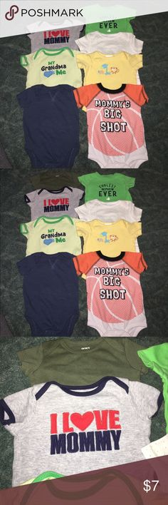 Bundle of 3 month onesies Bundle of 3 month onesies. Smoke free and pet free home. One Pieces Bodysuits