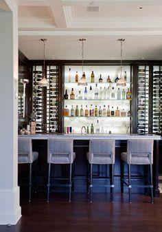 Palisades Riviera Transitional Home Bar Los Angeles Jackson Paige Interiors Inc