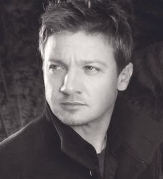 Jeremy Renner I noticed him in the Hurt Locker.  He's an amazing actor and very easy on the eyes.