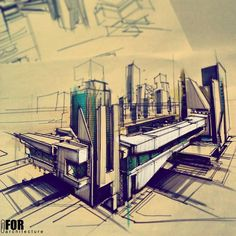 Hand Drawings are still the best Art in Architecture - Architecture Admirers