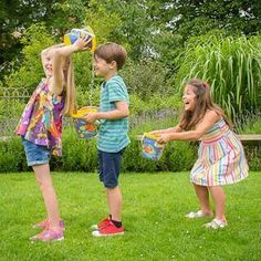 Fun Team Building Activities for Adults and Kids - mybabydoo - good idea!- Fun Team Building Activities for Adults and Kids – mybabydoo Kids Party Games, Fun Games, Water Party Games, Kids Water Party, Cookout Games, Water Kids, Sleepover Games, Water Water, Activity Games