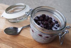 Ladybirds Nest - Chia pudding, Coconut- and ricemilk, blueberries