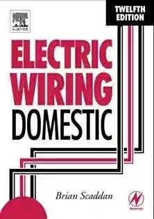 Pdf Electric Wiring Domestic By Brian Scaddan Free Pdf Books Domestic Wiring House Wiring Home Electrical Wiring