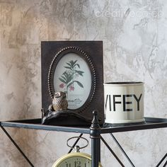 Turn of the Century Resin Owl Photo Frame  ★ Creative Co-Op Home