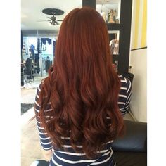 Cobrizo #haircolor