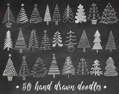 Chalkboard Texture, Chalkboard Lettering, Chalkboard Designs, Chalkboard Drawings, Chalkboard Paint, Christmas Doodles, Christmas Art, Christmas Decorations, Handmade Christmas Crafts