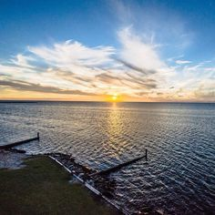 Come watch one of Hatteras Islands famous sunsets!