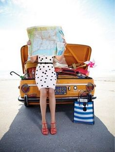 "#travel Inspiration for ""on the road"" or destination photoshoots for high fashion magazine"