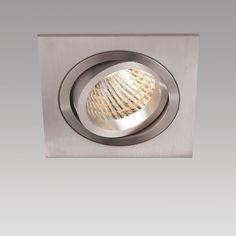 NEW AGE E196 LED QUADRATISCH, inkl. 3000lm 830 24° 39W, inkl. LED-Konverter DALI dimmbar - Innenleuchten