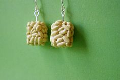 Miniature Rice Krispy Treat Polymer Clay Dangle by ButtercupCharms, $14.00