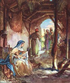 Retro Christmas, Christmas Angels, Christmas Crafts, Lucas 2, Choirs, Lourdes, Reyes, Doorway, Nativity