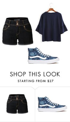 """Fangirl"" by emmylong04 on Polyvore featuring LE3NO and Vans"