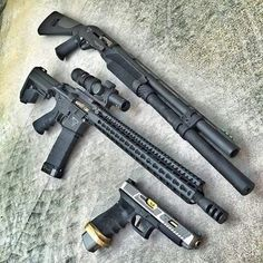 My Taran Tactical 3 gun setup built by a multiple time world champion. Tactical Shotgun, Tactical Life, Tactical Gear, Combat Shotgun, Custom Guns, Assault Rifle, Cool Guns, Guns And Ammo, Firearms