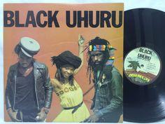 Black Uhuru RED Album 1981 Mango / Island #MLPS9625 LP #Vinyl Record