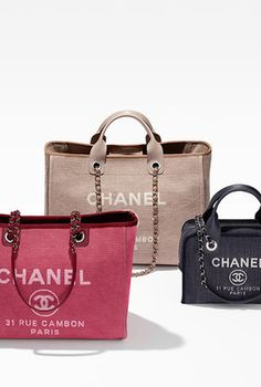 99acd4ed302 Pre-owned Chanel Deauville With Silver Chain Pink Tote Bag ( 3,795 ...