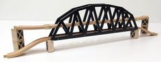 Double Decker Bridge wooden track set