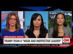 Katrina Pierson's CNN interview spirals into chaos when she defends Trump by blaming hip-hop for rape  #ThoughtsOfANegroBedWench