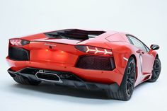 Lamborghini Aventador. It is painfully pretty...to me at least.
