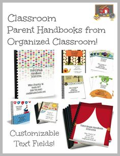 Need more time during Open House? Use the Classroom Parent Handbook to cover everything you don't have time to do that night! Available in all themes, which coordinate with the Common Core Lesson Planning Packs, Classroom Essentials Sets, Complete CCSS Vocabulary Programs, and Personal Planning Calendars! $