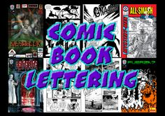 I can letter 5 pages of your Comic book for $5, on fiverr.com