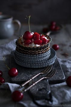 Cherry Poppyseed Tartletts
