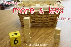 Comparing numbers to 10 - more, less or the same