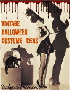 50 Vintage Halloween Costume Ideas - 1920s, 1930s, 1940s, 1950s, 1960s