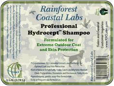 Rainforest Coastal Labs Products Hydrocept Extreme Coat Shampoo