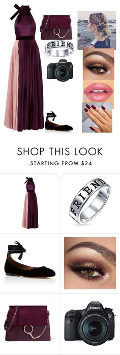 """""""Megan Charity Event 2.0"""" by dokata-kat on Polyvore featuring Roksanda, Bling Jewelry, Tabitha Simmons, Chloé and Eos"""