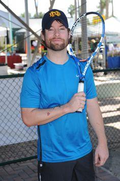 david cook pics pinterest | David Cook - Chris Evert Pro-Celebrity Tennis Classic | American Idol ...