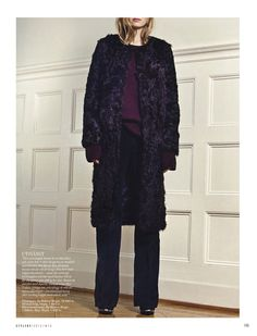 The coat and the flared manchester pants are from By Malene Birger