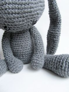 Little Things Blogged: {Amigurumi Alien Bunny}