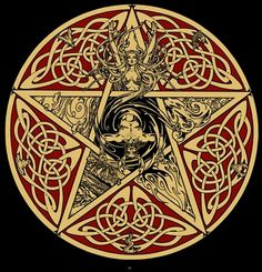 Celtic Horned God Moon Goddess Pentacle/Pentagram www.stella-stroy-dv.ru