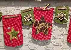 Debbie's Creative Spot: Christmas Banners