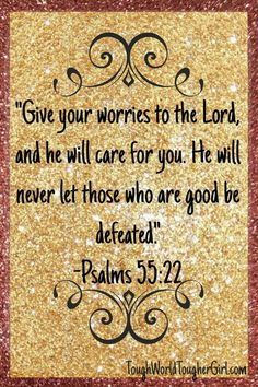 Psalms 55:22- Learn how to get through stressful times. Read what the simple yet powerful action you can take to get through the stressful situations.