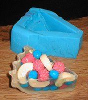 Building Pie Slice Candles or Soaps Project Sheet