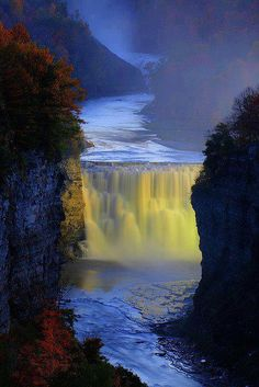 Genesee River, New York.