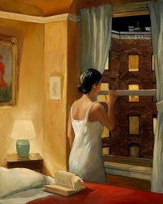 """Sally Storch """"Night Stories"""", 2008 (USA, New Realism, 21st cent.)"""