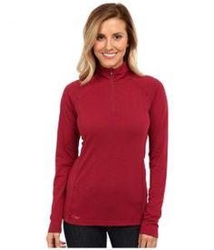 Outdoor Research Essence L/S Zip Top (Mulberry/Desert Sunrise) Women's Long Sleeve Pullover