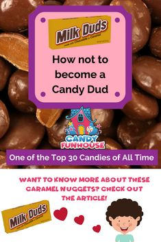Wanna know more about these caramel nuggets? Read more! Milk Duds, Old Fashioned Candy, Best Candy, Match Making, Caramel, How To Become, Posts, Chocolate, Breakfast