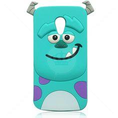 Capa de Silicone Sulley 3D para Motorola Novo Moto G3