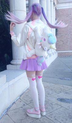 nice Too Kawaii Mode Harajuku, Harajuku Girls, Harajuku Fashion, Japan Fashion, Kawaii Fashion, Lolita Fashion, Cute Fashion, Harajuku Style, Mode Kawaii